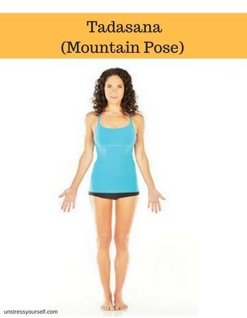 tadasana mountain yoga basics for beginners