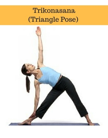 trikonasana triangle yoga basics for beginners