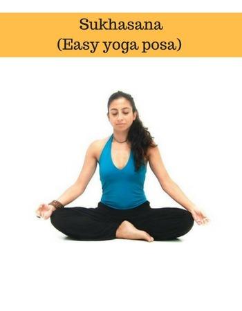 sukhasana easy yoga basics for beginners