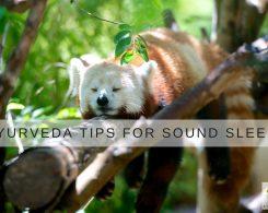 Ayurveda Tips for better sleep