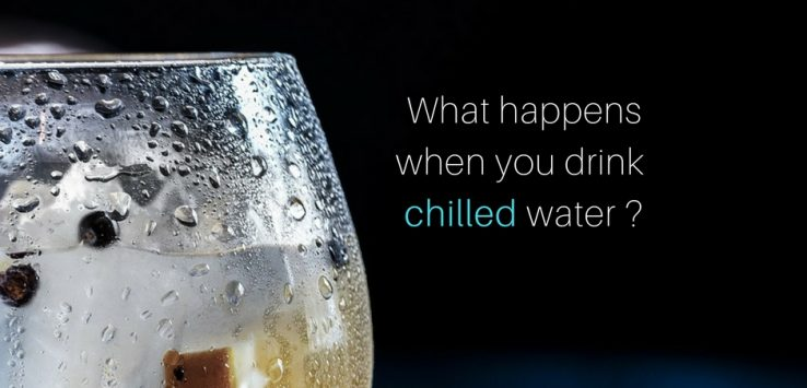 what happens if you drink cold water