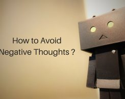 How to avoid negative thoughts