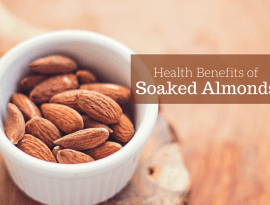 health benefits of soaked almonds