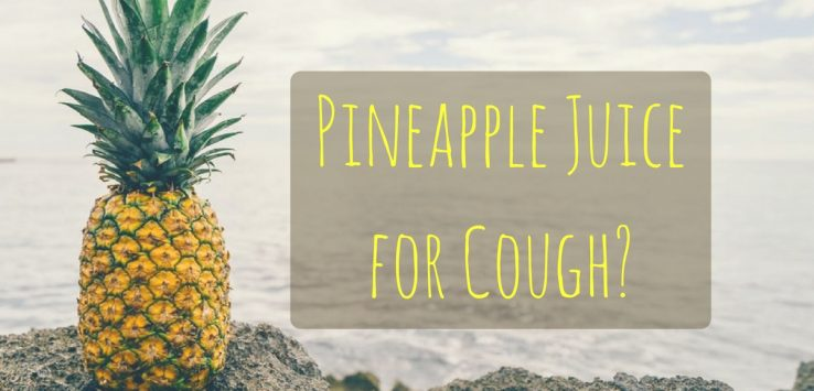 Pineapple Juice for Cough ayurvedum