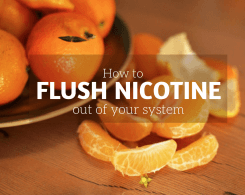 how to get nicotine out of your system