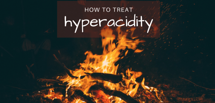 how to treat hyperacidity