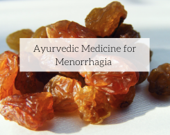 Ayurvedic Medicine For Menorrhagia