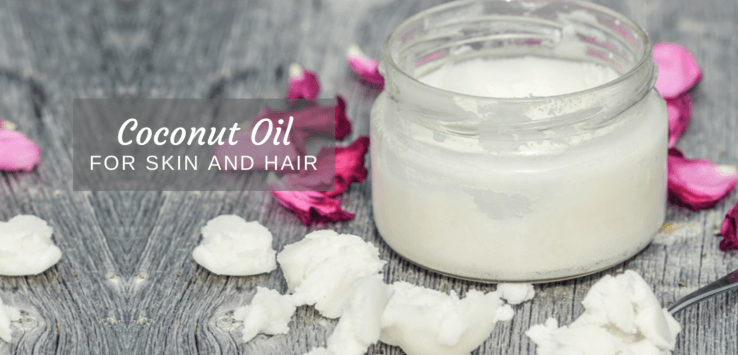 coconut oil for skin