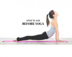 what to eat before doing yoga
