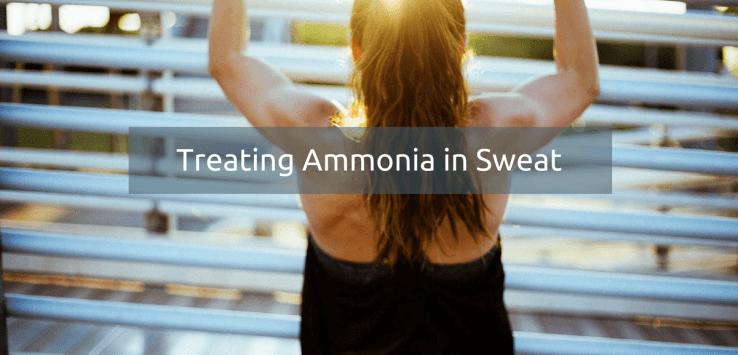 sweat smells like ammonia