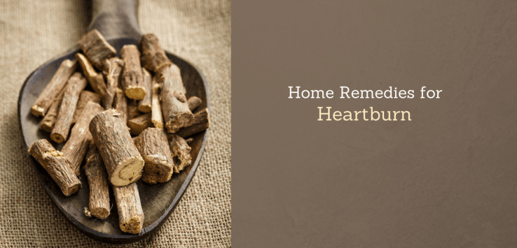 home remedy for heartburn