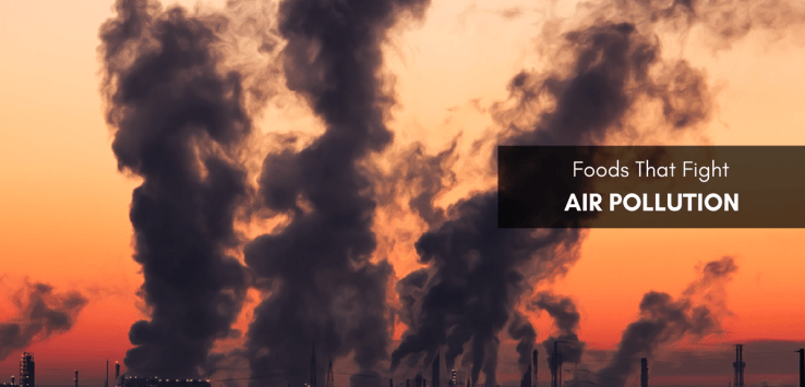 foods that fight air pollution