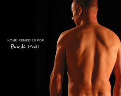 home remedy for back pain