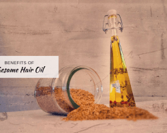 sesame hair oil