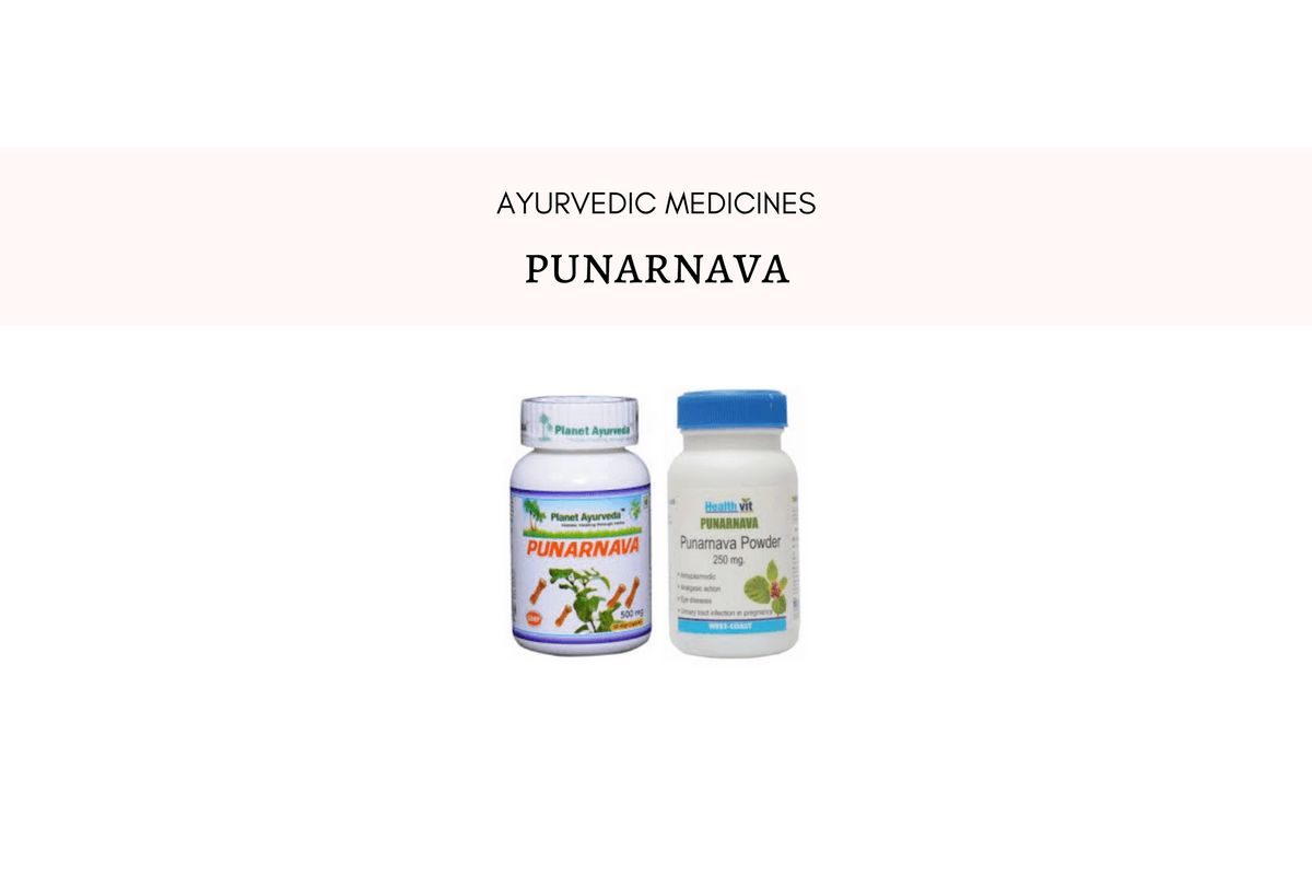 Punarnava As A Medicine – Uses, Dosage And Side Effects