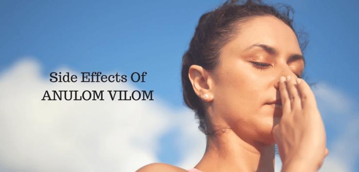anulom vilom pranayama side effects