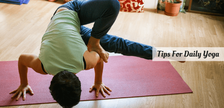 daily yoga routine at home