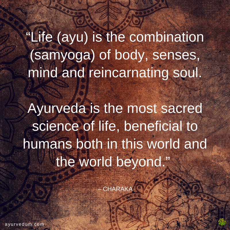 ayurveda quote charaka