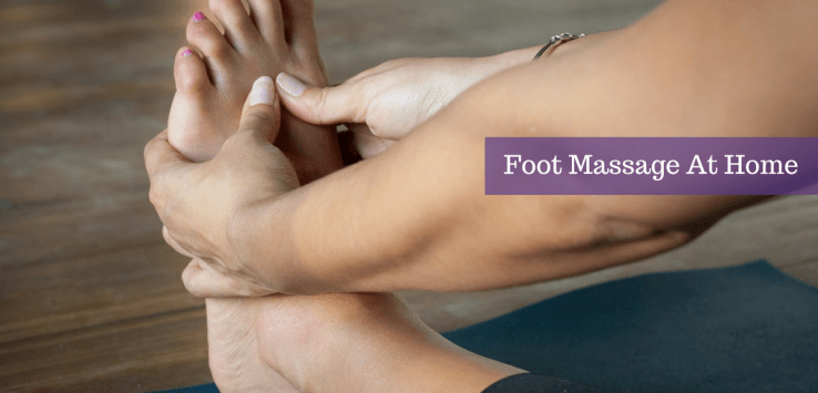 foot massage at home