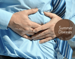 seasonal diseases in the summers