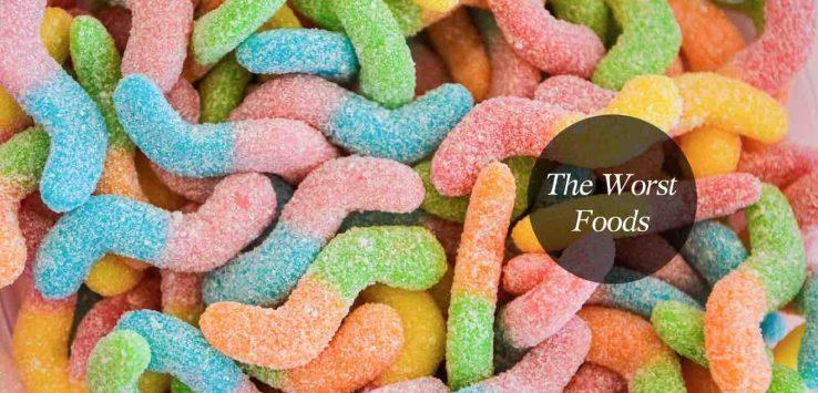 unhealthy foods list