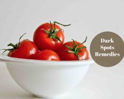 how to get rid of dark spots fast