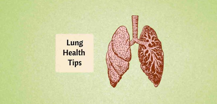 how to keep lungs healthy naturally