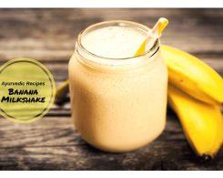 Banana shake _ Ayurvedum