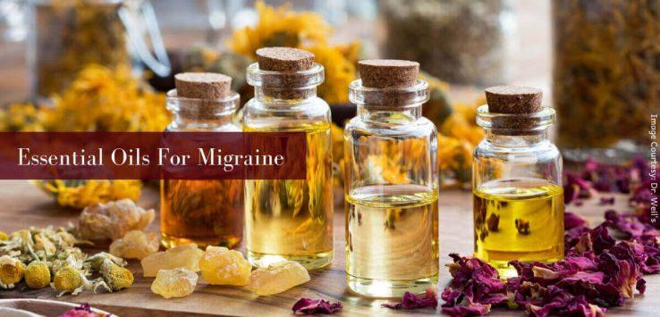 essential oils for migraines _ Ayurvedum