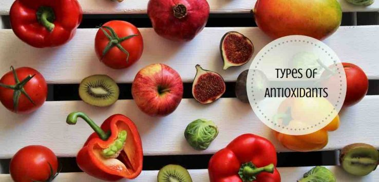 types of antioxidants