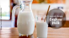 Cashew milk recipe _ Ayurvedum
