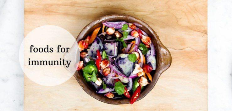 corona immunity food